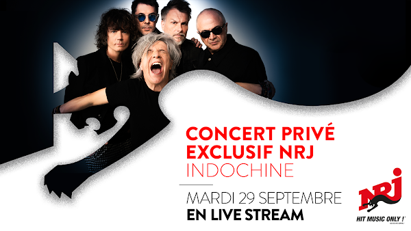 Indochine - Concierto ultra privado exclusivo NRJ