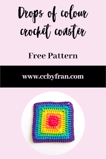 crochet coaster pattern free