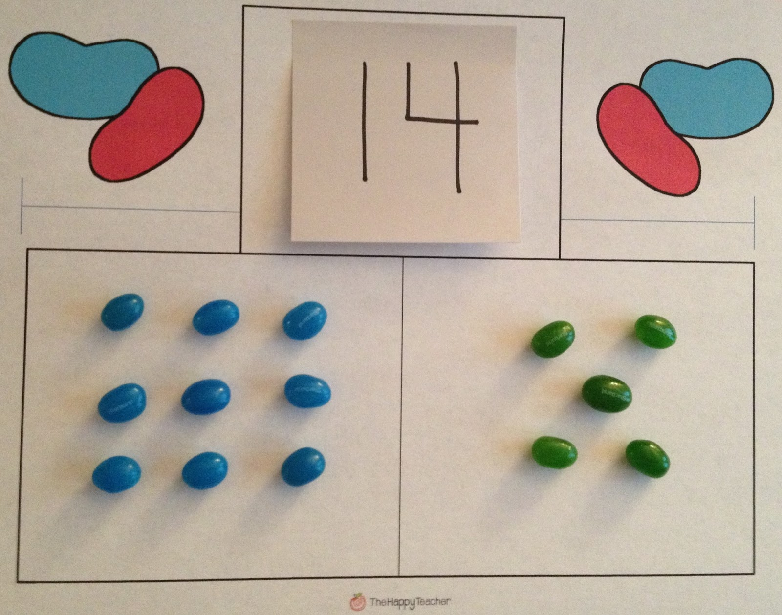 Thehappyteacher Jelly Bean Math Addition