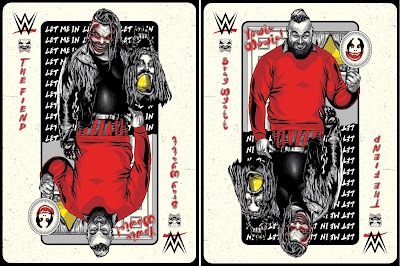 "WWE Bray Wyatt ""The Fiend Is Wild"" Screen Print by M. Fitz x Phenom Gallery"