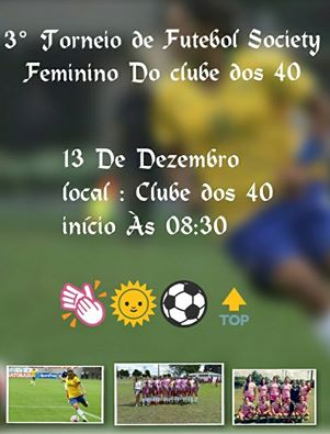 LIGEIRINHO NO ESPORTE   3 Torneio de futebol Society vai acontecer ... c5c18219e264c
