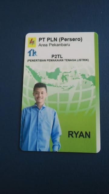 Id Card Anggota PLN