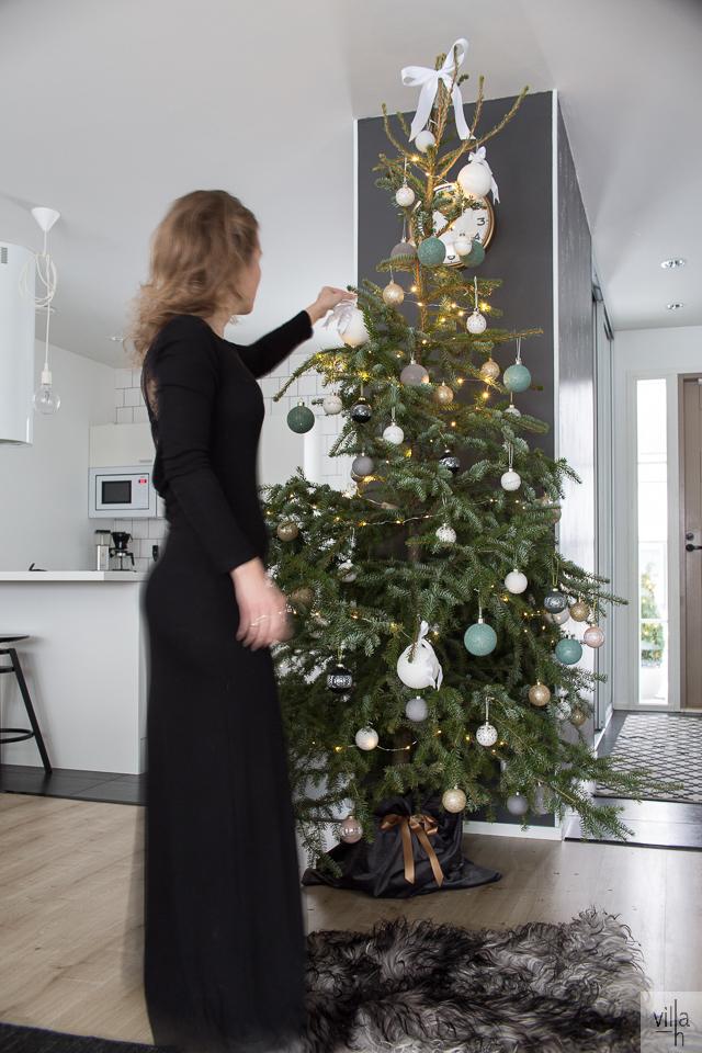 joulukuusi, ideoita jouluun, joulu sisustus, villa h