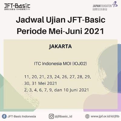 JFT Basic Jakarta mei juni