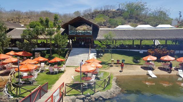 Restaurante Karrancas, Cânion do Xingó,Sergipe