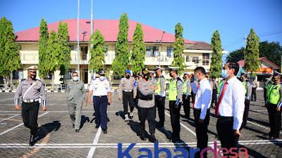 Polres Situbondo Gelar Apel Pasukan Operasi Keselamatan Semeru 2021