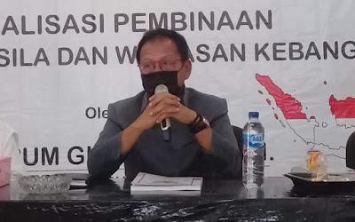Ketua DPRD Lampung Sosialisasikan Pembinaan Ideologi Pancasila