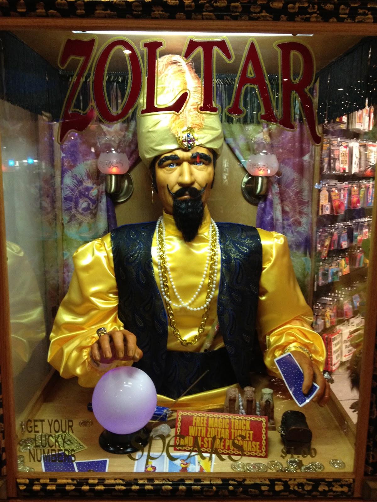 Mystery Playground Zoltar