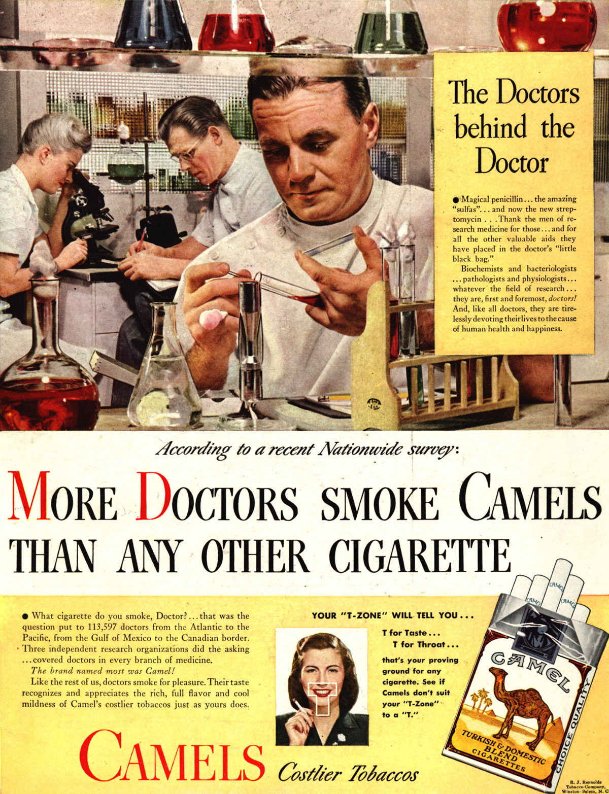 Famous camel cigarette smokers poisons found in cigarettes