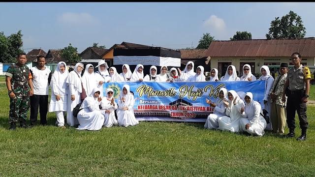 Babinsa Menghadiri Kegiatan Manasik Haji Kids Di Lapangan Desa Beji Kecamatan Pedan