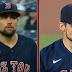 Nathan Eovaldi switches jerseys midgame vs. Yankees