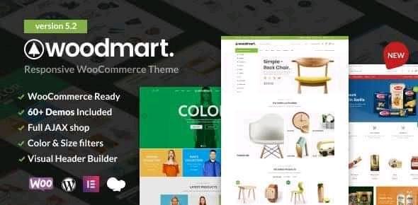 Woodmart Responsive Wordpress theme for E-commerce website | web.educoxbd.com