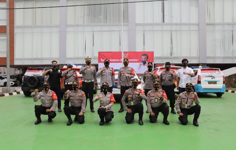 """Corona Mobile Patroli"", Polresta Bandara Soekarno-Hatta"