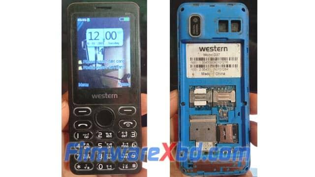 Western D37 Flash File 6531E