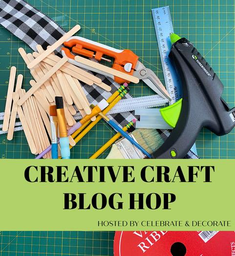 Creative craft blog hop