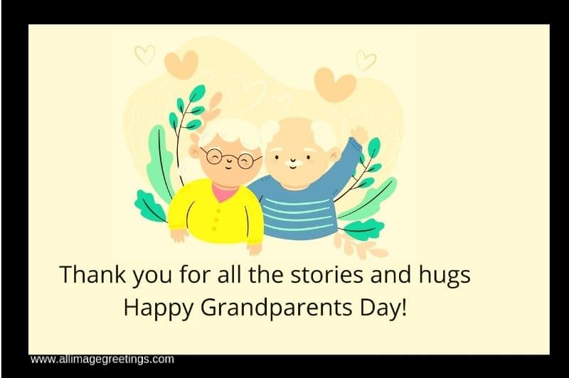 Happy grandparents day wishes