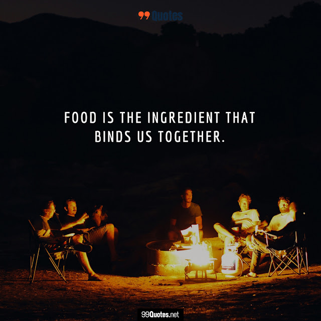 friendship and food quotes