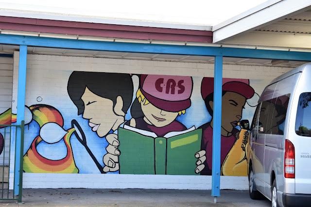 Strathfield Public Art | Chalmers Road School Mural