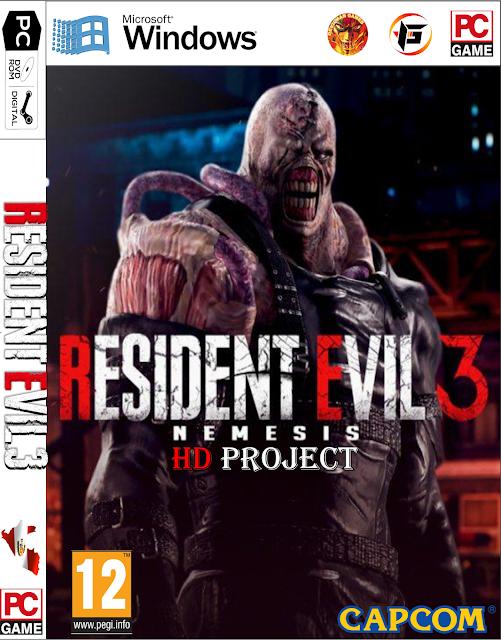 Resident Evil 3 Nemesis HD Texture