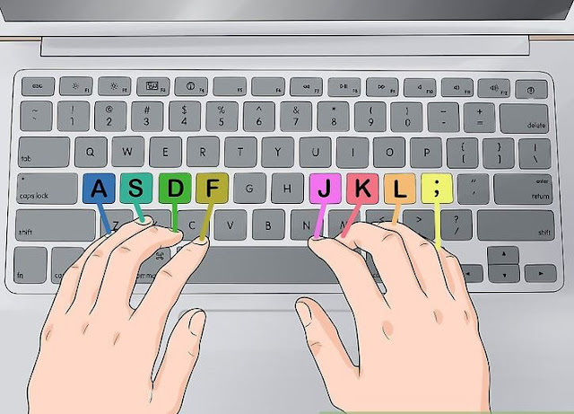 Instructions to Type Faster: 12 Typing Tips and Techniques - Healthy Articlese