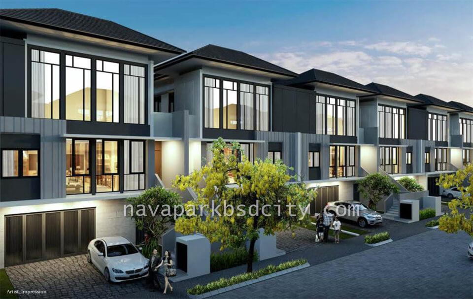 Rumah Lakewood NavaPark Tipe 10
