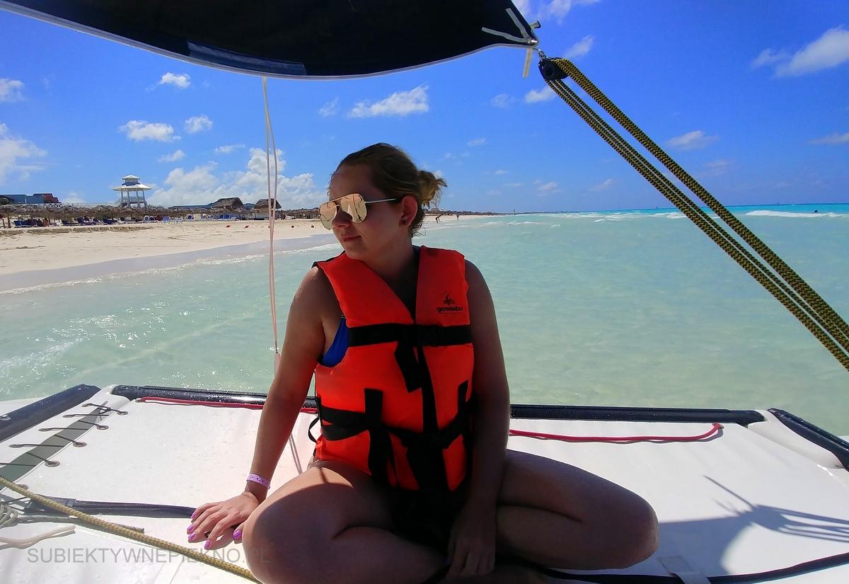 Kuba Cayo Santa Maria - na Hobie Cat po oceanie