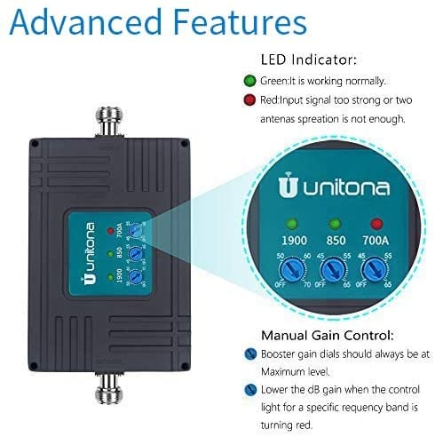 UUNITONA Cell Phone Signal Booster for Home Office
