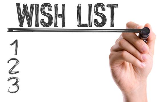 Wishlist Tahun Baru 2019