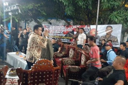 Bobby: Saya Maju Walikota Bukan Karena Dinasti, Tapi Membangun Medan Ala Jokowi