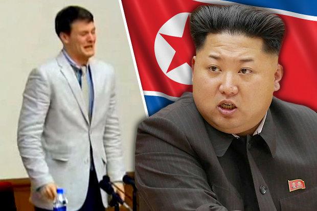 Jovem americano preso na Coreia do Norte há 17 meses é libertado