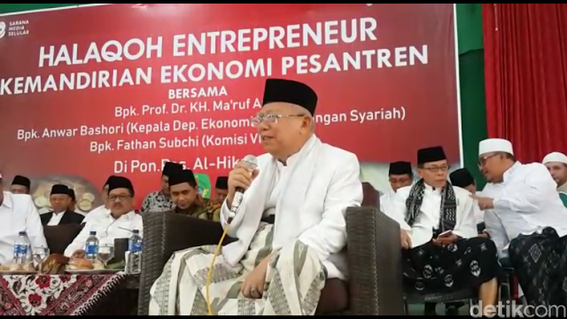 Ma'ruf: Ulama Alim, Hafal Quran, Ahli Ibadah Justru Dukung Kami