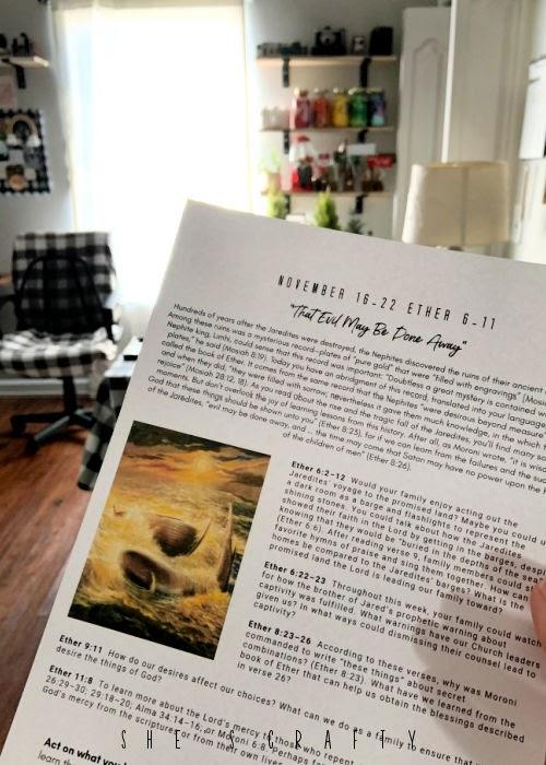 Book of Mormon study helps |  Come Follow Me  |craft toom