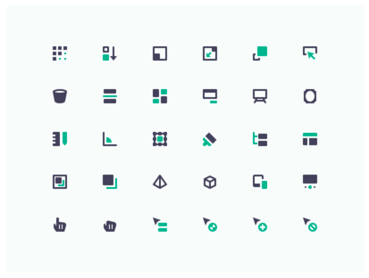 Design & Development (mini icons)