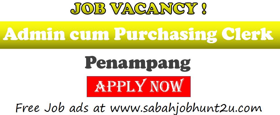 Admin Purchasing Clerk Penampang