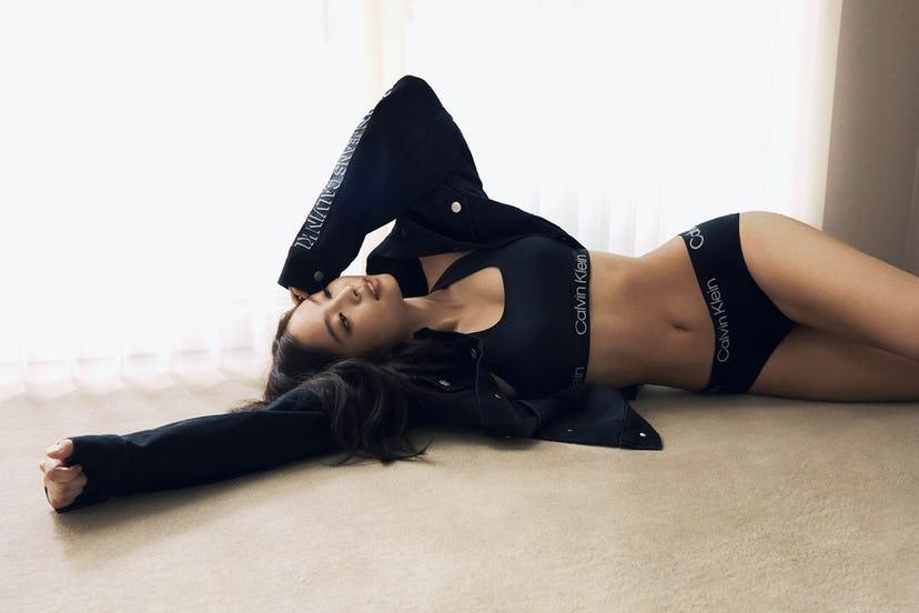 BLACKPINK Jennie Calvin Klein Fall 2021 Campaign