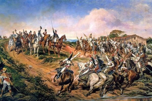 Dom Pedro I realizou a proclamação da independência do Brasil durante uma viagem de volta à cidade do Rio de Janeiro (Foto: Wikimedia)