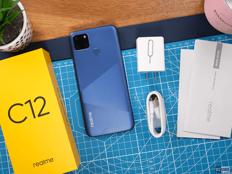 The 6,000mAh-powered realme C12 now is available in Philippine shores!