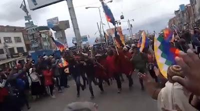 """A poche settimane dal colpo di stato che ha estromesso Evo Morales dalla presidenza, dopo inesistenti accuse di brogli, sono stati pubblicati gli audio relativi alle conversazioni della """"cupola"""" dentro gli apparati di sicurezza, che dimostrano come tutto era stato preparato nei minimi dettagli grazie all'addestramento a stelle e strisce."""