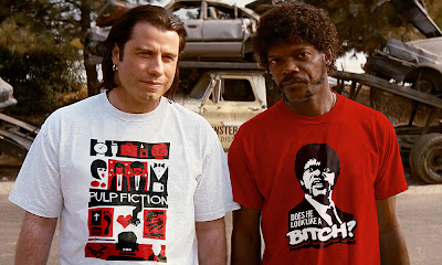 Jules y Vincent ya tienen sus camisetas de 'Pulp Fiction'