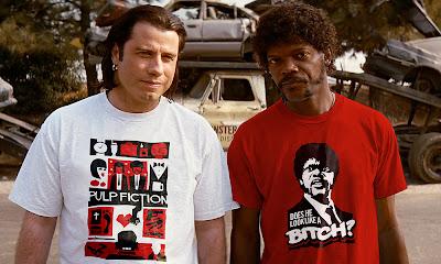 Jules y Vincent ya tienen sus camisetas de 'Pulp Fiction'