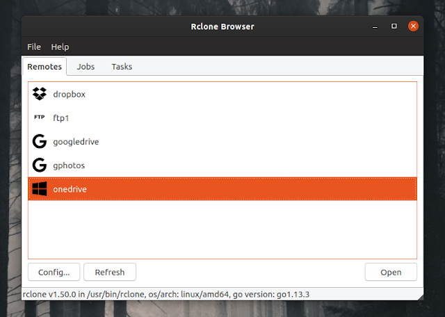 Rclone Browser