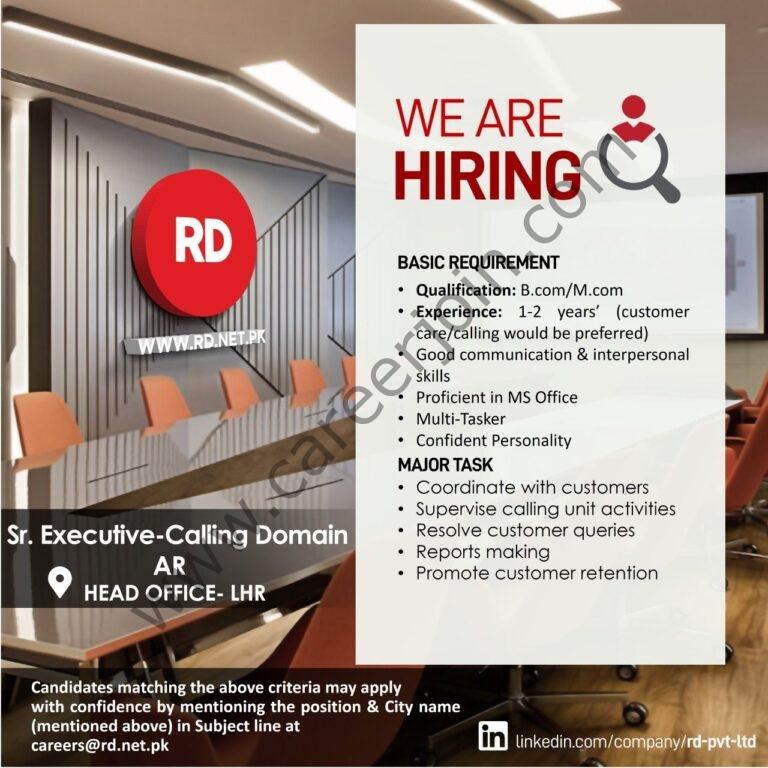 careers@rd.net.pk - RD Ruba Digital Pvt Ltd Jobs 2021 in Pakistan