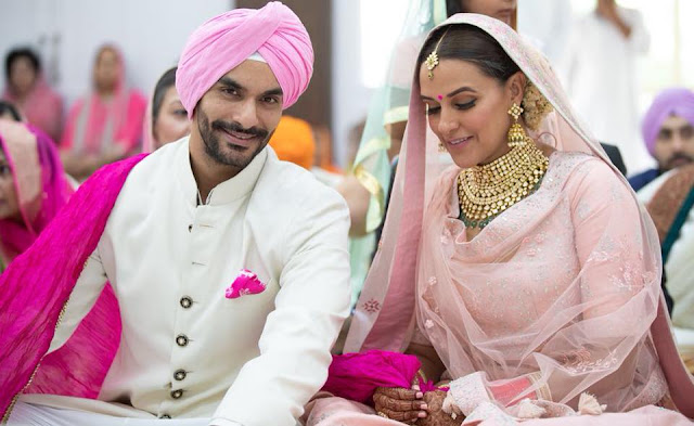 Neha Dhupia Heavy Bridal Set