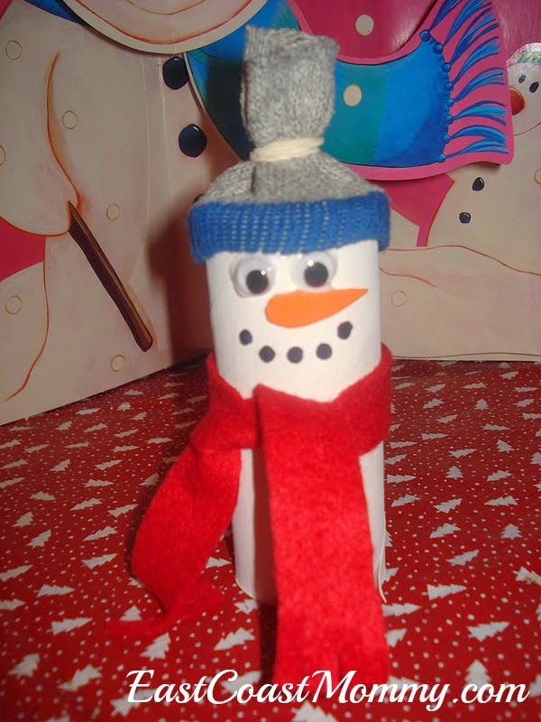 paper roll snowman craft east coast toilet paper roll snowman 5131