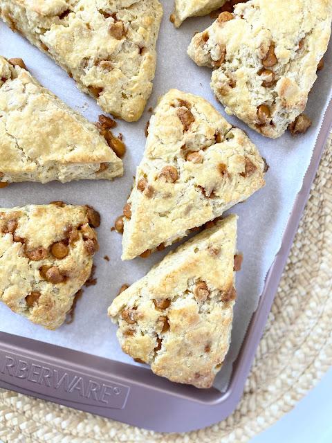 Buttermilk Butterscotch Scones