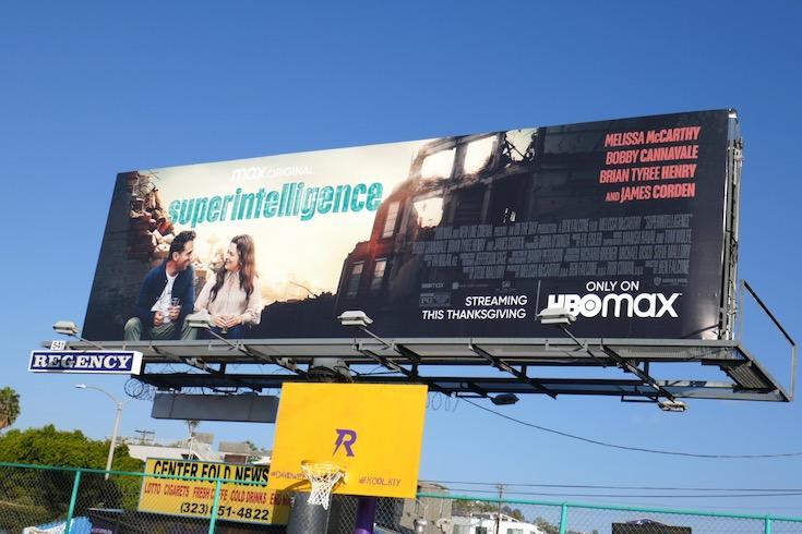 Superintelligence film billboard