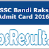 Download Bandi Rakshak Admit Card 2016 Physical Call Letter
