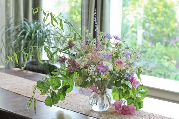Wild Midsummer Vase