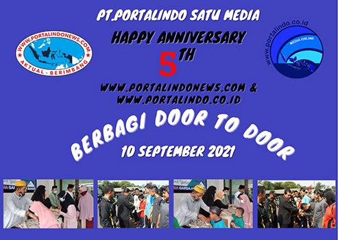 Potalindo Satu Media Happy Annuversary 5th