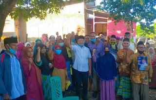 H. Arifin Disambut Hangat Saat Blusukan di Kecamatan Parado dan Monta